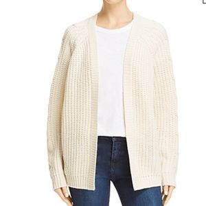NWT cable knit cardigan sweater by Aqua size M